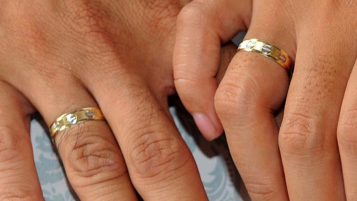 Een echtpaar. © AFP