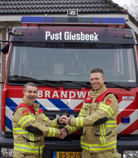 Soethof nieuwe brandweercommandant Giesbeek: 'Trots en blij'