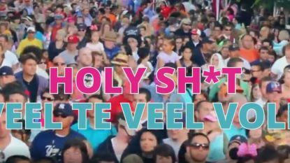 VIDEO: Stormloop naar Nacht van Team Burgemeester: Kortrijks dansfeest moet uitwijken naar ruimere locatie