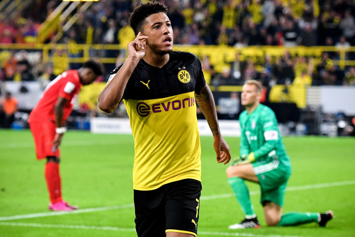 Jadon Sancho schitterende tegen Bayern München en wil dat weten ook.