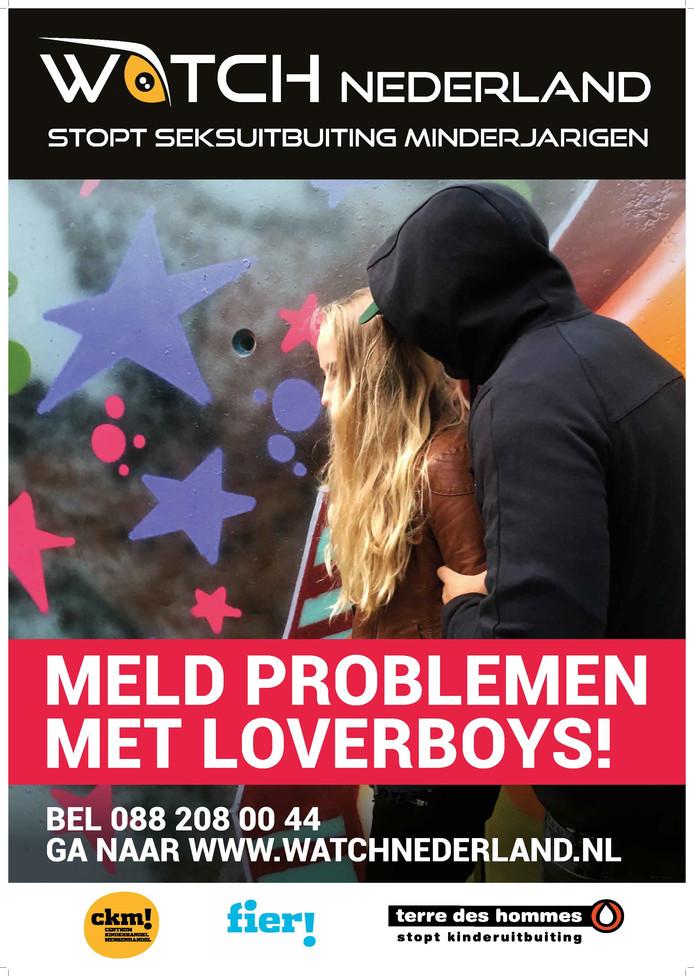 Meldpunt Watch Nederland van Terre des Hommes voor loverboys