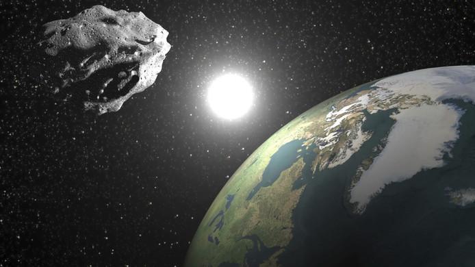 Asteroïde, foto ter illustratie.