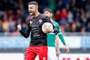 Rai Vloeit scoorde tweemaal tegen FC Dordrecht.