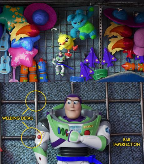 Les secrets de fabrication complètement fous de Toy Story 4