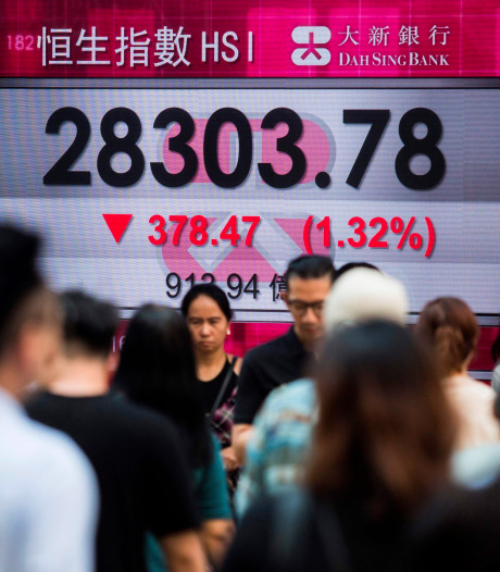 Chinese economie voelt handelsoorlog met VS