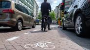 Initiatiefnemers achter zelf geschilderd fietspad op Turnhoutsebaan krijgen GAS-boete in de bus