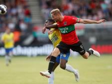 NEC-aanvoerder Van Eijden mist ook bekerduel tegen Excelsior