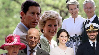 Vanop de catwalk tot het tennisveld: zo leerden deze koninklijke koppels elkaar kennen