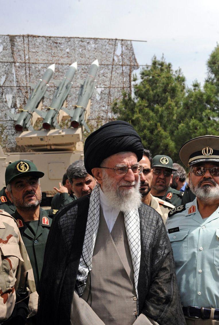 De Iraanse Ayatollah Ali Khamenei.