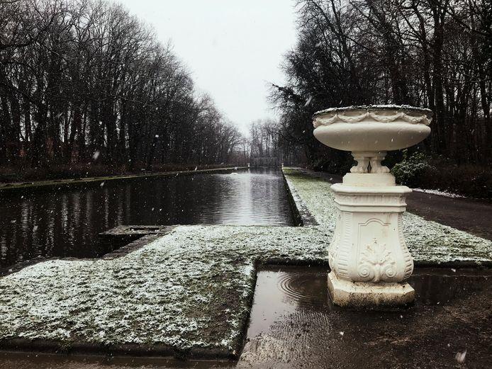 Sneeuw in Aalst
