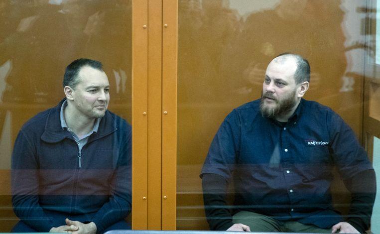 Sergei Mikhailov en Ruslan Stoyanov.