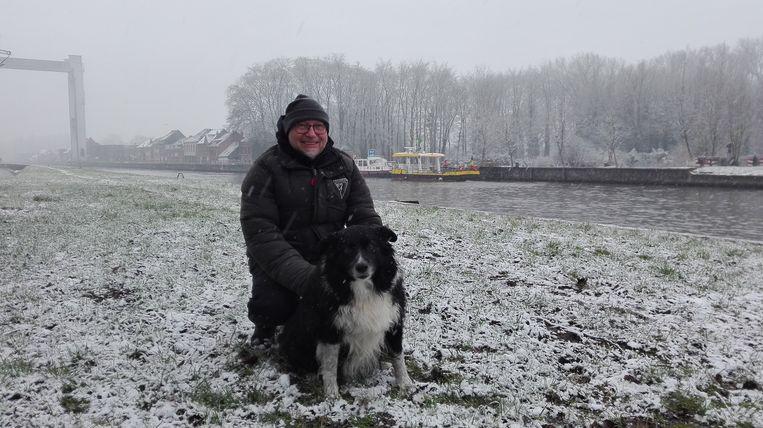 Leo Remant kan weer aan de westkant gaan wandelen met zijn hond.