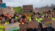 Tweehonderd 'Anuna's van Wetteren' stappen naar Rode Heuvel voor klimaat