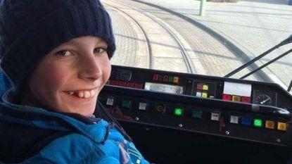 Fikse boete voor jonge tramfanaat