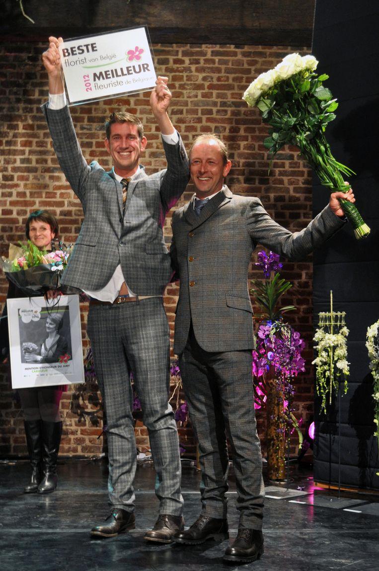 Young Amadeus Leuven werd uitverkozen tot 'Best Florist of Belgium'.