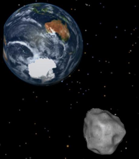 Behoorlijk dichtbij! Enorme ruimterots vliegt komende week langs aarde