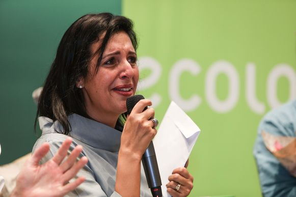 Ook Zakia Khattabi waagt haar kans.