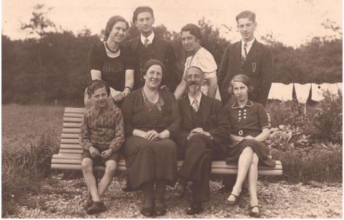 Foto van het gezin Van Spiegel.