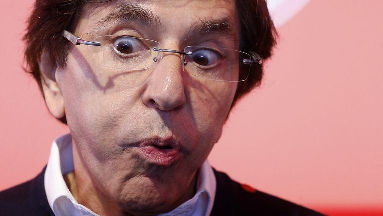 Elio Di Rupo kon na zijn premierschap naadloos weer voorzitter van de PS worden. Een blunder.