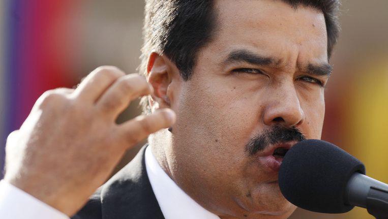 President van Venezuela Nicolas Maduro Beeld ap