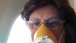 Noodlanding door vreemde geur in vliegtuig