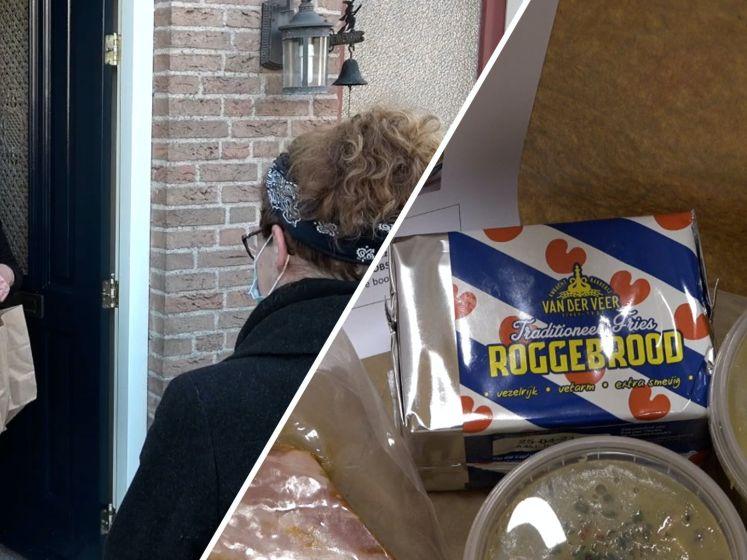 Anna Zorgt deelt 400 liter soep uit in Sint-Annaland