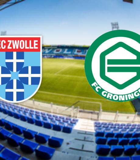 LIVE | Groningen moet winnen om zicht te houden op play-offs