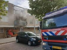 Brand in slaapkamer aan Graaf Janlaan, persoon aangehouden