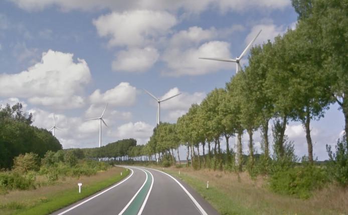 De Bernardweg bij Nieuwdorp.