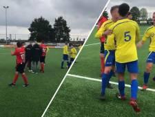 Vier keer rood voor Heeswijk binnen één minuut: spelers volgens coach gefrustreerd door scheidsrechter