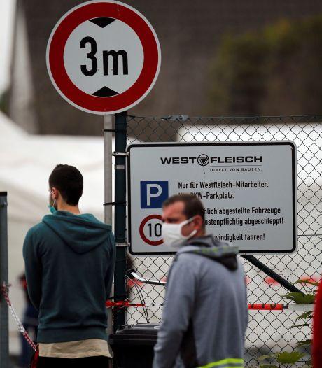 Corona-explosie bij slachterij in Duitse Coesfeld: 254 besmettingen