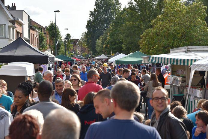 Een beeld dat we in september niet zullen zien in Hoeilaart. De kans dat de jaarmarkt tijdens het Druivenfestival kan plaatsvinden, is nagenoeg onbestaande.
