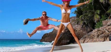 Ronan Keating viert de liefde op tropisch privé-eilandje