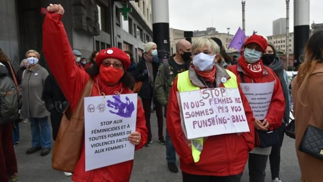 Betogers klagen toenemend geweld tegen vrouwen aan