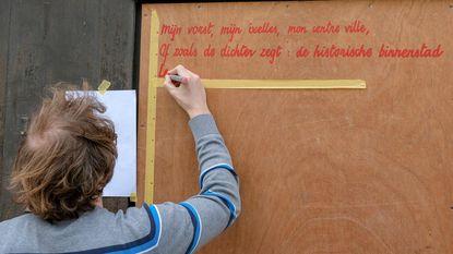 Nieuwe Partij voor Poezië vult straatbeeld met gedichten