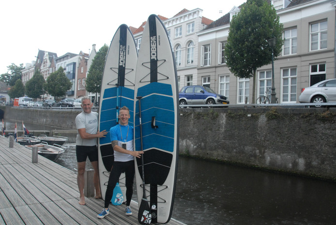 Jeroen Vreugdenhil en Edwin Lieven.
