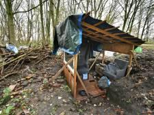 Enschedese 'bosjesman' John is geholpen, voor nu in ieder geval