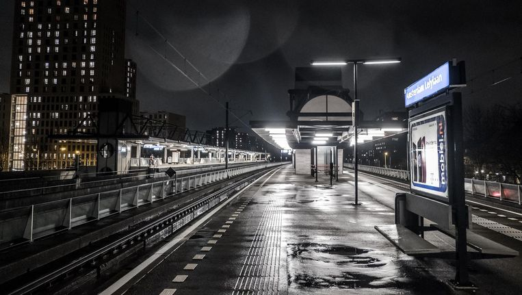 Volgens de Monitor sociale veiligheid openbaar vervoer wordt Lelylaan als onveiligste station ervaren. Beeld Joris van Gennip