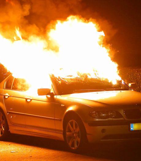 Weer autobrand in Oss, na anderhalve maand van relatieve rust