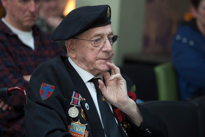 Bill Cole, de Britse bevrijder die na de oorlog in Doetinchem bleef hangen en er nog altijd woont.