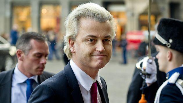 Geert Wilders, leider van de PVV. © ANP