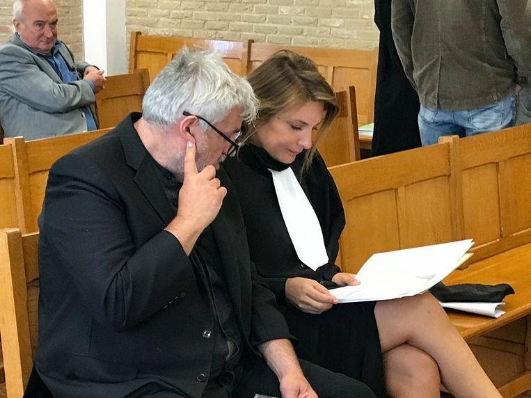 Klankman Pascal Braeckman was gisteren zelf aanwezig in de politierechtbank van Veurne