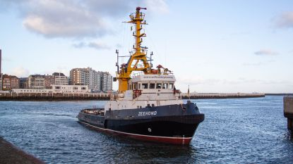 ZEEHOND zegt Oostendse haven vaarwel na 29 jaar trouwe dienst