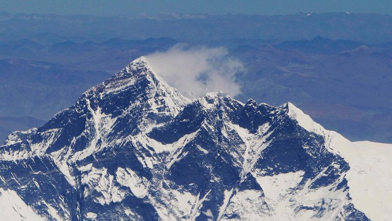 De Himalaya vanuit de lucht. Beeld anp