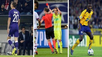 Champions League-debuten met een rood randje: onder meer Kums, Dejaegere en Vieira gingen Ronaldo voor