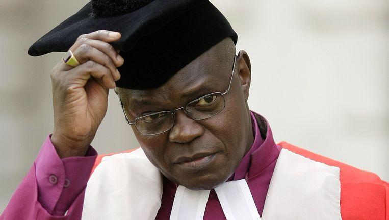 De anglicaanse aartsbisschop John Sentamu Beeld