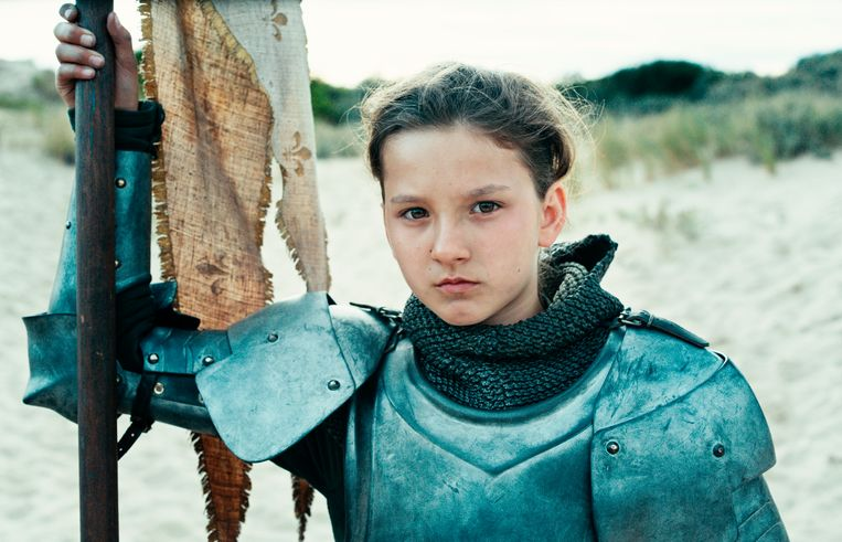 De jonge Jeanne d'Arc. Beeld