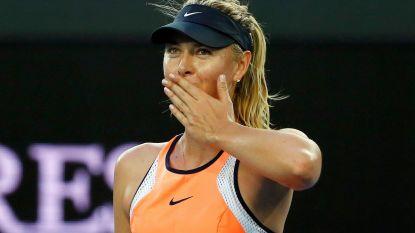 """Sharapova is bijna terug: """"Graag mijn carrière afsluiten op mijn manier"""""""
