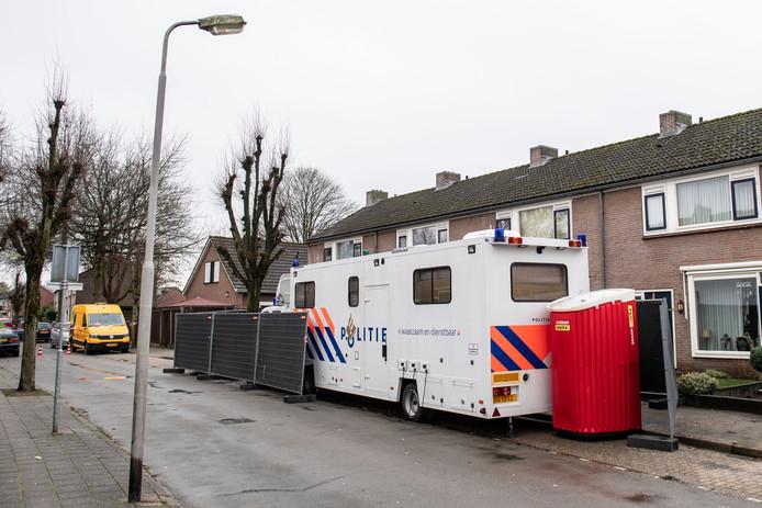 Politieonderzoek na het misdrijf in Losser