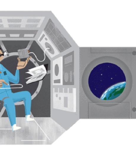 Google eert astronaut Wubbo Ockels met eigen doodle